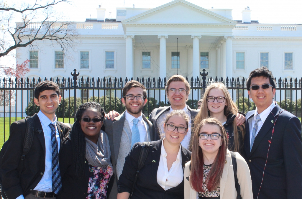 Grand Challenges Students in DC